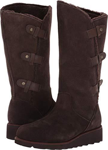 (BEARPAW Women's Hayden Boot Chocolate II Size 6 B(M))