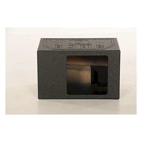 Q Power QBOMB12VL SINGLE SQ Single 12-Inch Side Ported Speaker Box for Kicker L7 Subwoofer