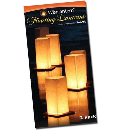 Wishlantern - Pack of 2 Water Floating Lanterns