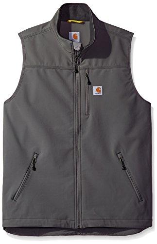 Carhartt Men's Big & Tall Denwood Vest, Charcoal, -