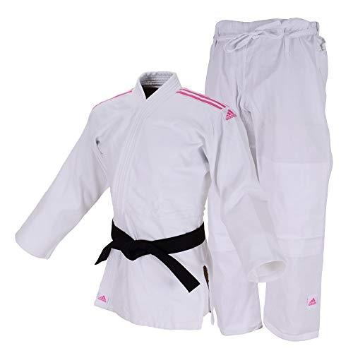 "ADIDAS Judo Uniform ""CLUB"" Sem Cinta  Branco/Rosa 180"