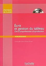 Ecrit Et Gestion Du Tableau