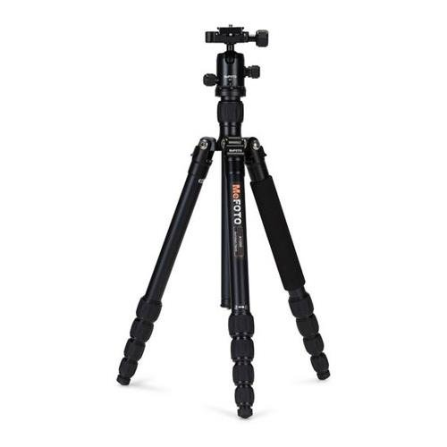 MeFOTO Classic Aluminum Roadtrip Travel Tripod/Monopod Kit - Black (A1350Q1K) by Mefoto