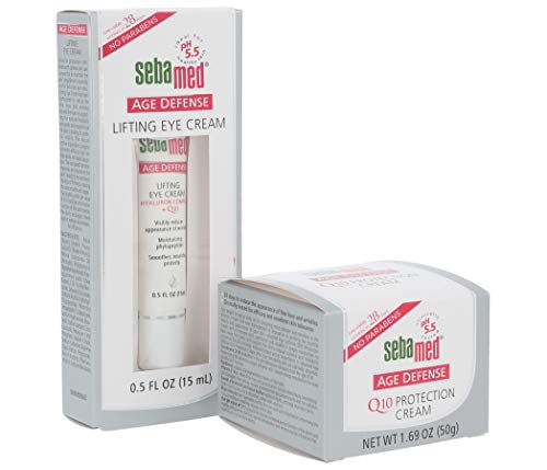 Sebamed Age Defense Q10 Protection Face Cream (50 milliliters) and Lifting Eye Cream (15 milliliters) Set