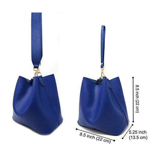 for Bag Stylish Blue Crossbody Shoulder Royal Purses Solene Women Bags Top Handle H0q8q