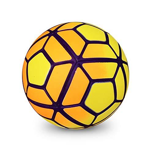 aolongwl Balón de fútbol Entrenamiento Profesional Balón De Fútbol Partido Fútbol Tamaño Oficial 5 Bolas Al Aire Libre…