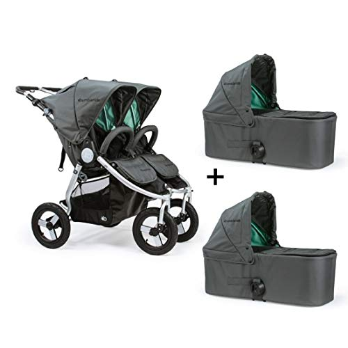 Bumbleride 2018 Indie Twin Stroller with Bassinets in Dawn G