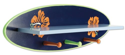 Trend Lab Wood Shelf, Surf Board