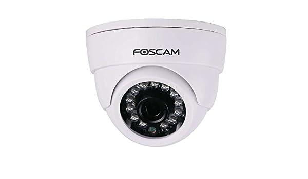 Foscam FI9851P_2 - Cámara de vigilancia IP de Interior HD con conexión inalámbrica, Color Blanco, 1 MP: Amazon.es: Bricolaje y herramientas