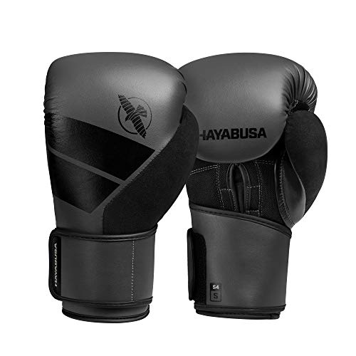 Hayabusa Boxing Gloves | S4 Training Gloves | Black, 12oz