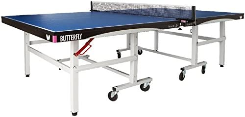 Butterfly Octet 25 Rollaway Table Tennis Table – 1 Inch Top Ping Pong Table – ITTF Professional Table Tennis Table