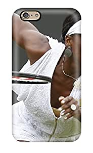 Special ZippyDoritEduard Skin Case Cover For Iphone 6, Popular Venus Williams Tennis Phone Case Kimberly Kurzendoerfer