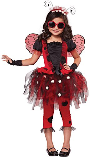 California Costumes Lovely Ladybug Costume, One Color, 6-8 (Ladybug Tutu Costume)