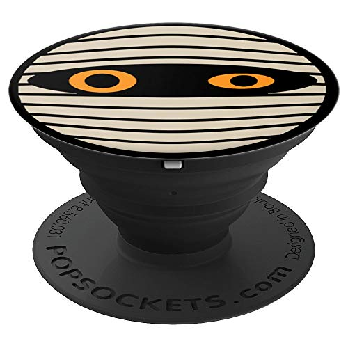 Cute Halloween Mummy Face - PopSockets Grip and Stand for Phones and Tablets