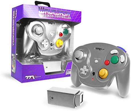 Ttx Gamecube Wavedash Wireless2.4 Ghz Controller Silver For Nintendo Gamecube With Wii Console [ [Importación alemana]: Amazon.es: Videojuegos