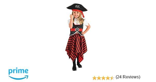 Rubbies - Disfraz de pirata para niño, talla L (8 años) (883620L)