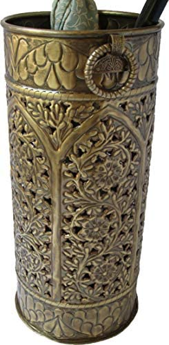 Excellent Accents Solid Brass Umbrella Stand AH-OPN
