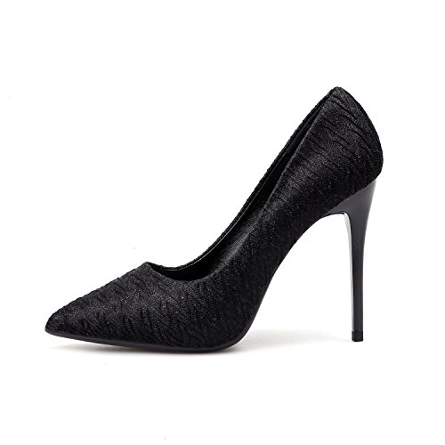tacchi fine singolo Alla sandali luce ZHZNVX bene sottile con Silver della femmina con del punta scarpe scarpe scarpe da lavoro con pro i alti XBqwxqdT