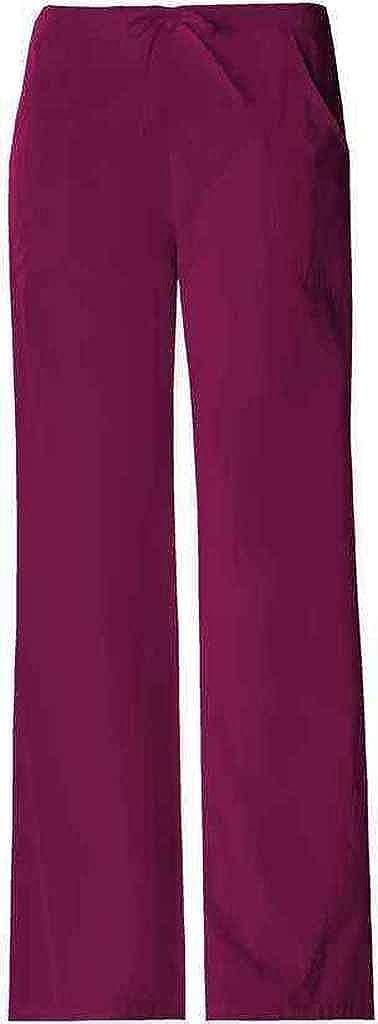 893574a1520 Amazon.com: Cherokee 1072 Women's Pro-Flexibles Drawstring Scrub Pant Wine  X-Small: Medical Scrubs Pants: Clothing