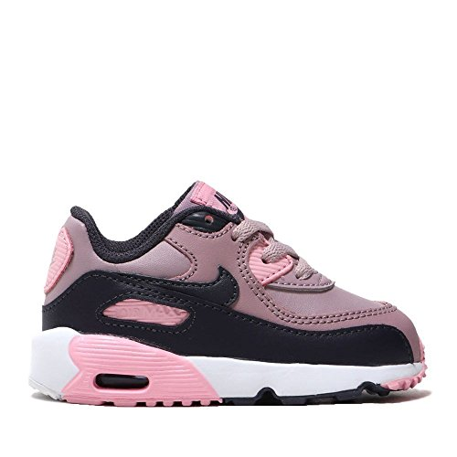 c7451c16e3e Galleon - NIKE Air Max 90 Leather Toddler s Shoes Elemental Rose 833379-602  (10 M US)