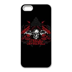 iPhone 5 5s Cell Phone Case White Avenged Sevenfold gtu