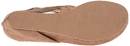 Cl By Cinese Lavanderia Donna Norah Zeppa Sandalo Taupe Super Suede