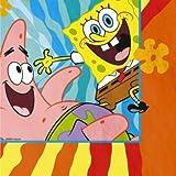 SpongeBob Buddies Luncheon Napkins - 16 Count