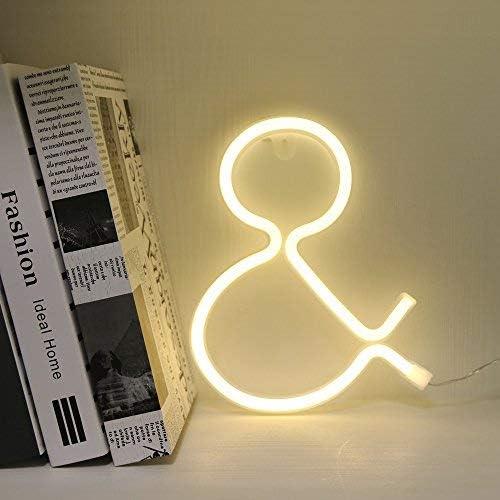 Amazon.com: Letra del alfabeto de Neon, 3.00watts, 4.50 ...