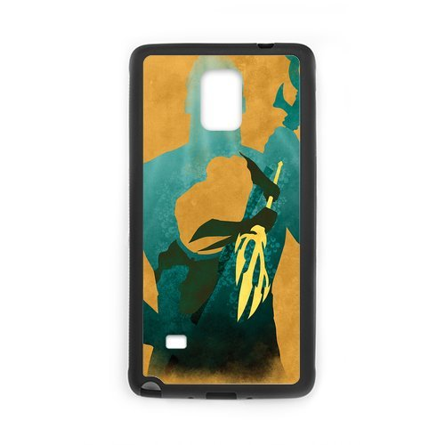 Fayruz- Personalized Aquaman Protective Hard Rubber Phone Case for Samsung Galaxy Note 4 Note4 Cover I-N4O118
