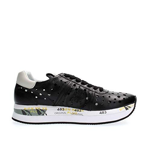 Donna Premiata Sneakers Sneakers Donna Conny Black Black Premiata Conny xIYq0Iw