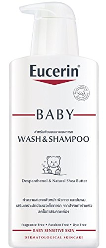 Eucerin Baby Wash & Shampoo 400ml for Baby Sensitive Skin