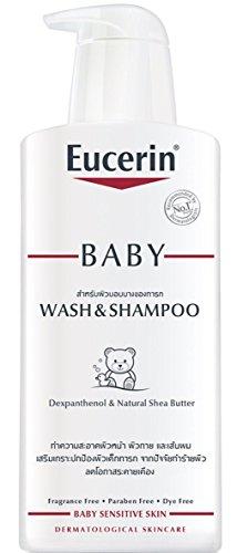 Eucerin Baby Wash & Shampoo 400ml for Baby Sensitive Skin