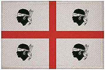 U24 Aufnäher Sardinien Alt Fahne Flagge Aufbügler Patch 9 X 6 Cm Auto