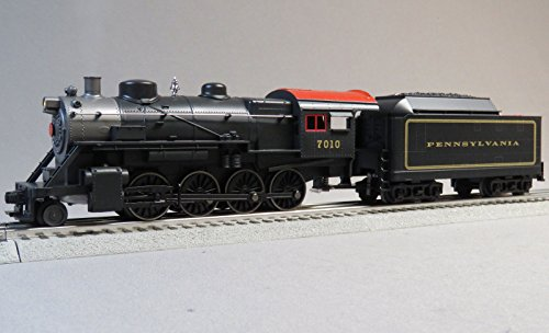 MTH RAIL KING PRR STEAM ENGINE & TENDER #7010 w/PROTO 3 o gauge
