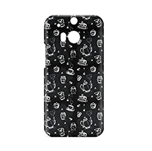 Tea Time HTC One M8 3D wrap around Case - Design 1