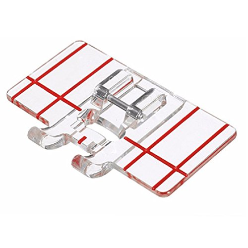 Purchase YEQIN Border Guide Sewing Machine Presser Foot - Fits All Low Shank Snap-On Singer, Brother...