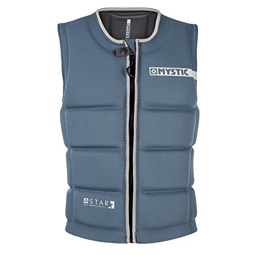 Mystic 2018 Star Front Zip Wake Impact Vest Navy 180152 Sizes- - Medium
