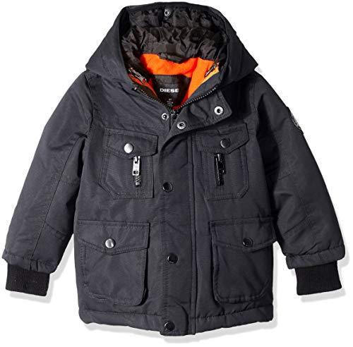 Diesel Boys' Toddler Paprika Systems Jacket, Charcoal - Boys System Jacket