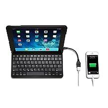 Kensington K97269US KeyFolio Thin X3 with Powerlift for iPad Air
