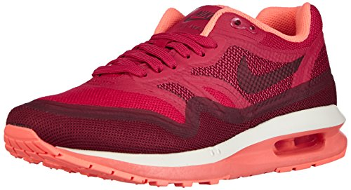 Nike  Air Max Lunar1 - Zapatillas de running para Mujer Fuchsia Force / Light Magnet Grey / Bright Mango