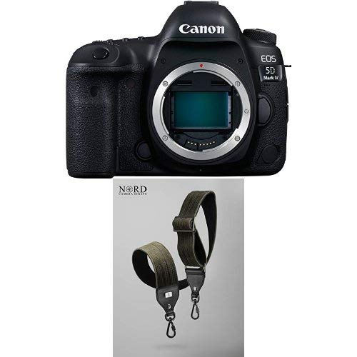 Canon EOS 5D Mark IV Full Frame Digital SLR Camera Body with Universal Camera Strap with Quick Release System