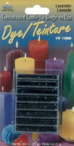Yaley Concentrated Candle Dye Blocks Lavender (12 Pack)