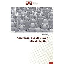 Assurance, égalité et non discrimination
