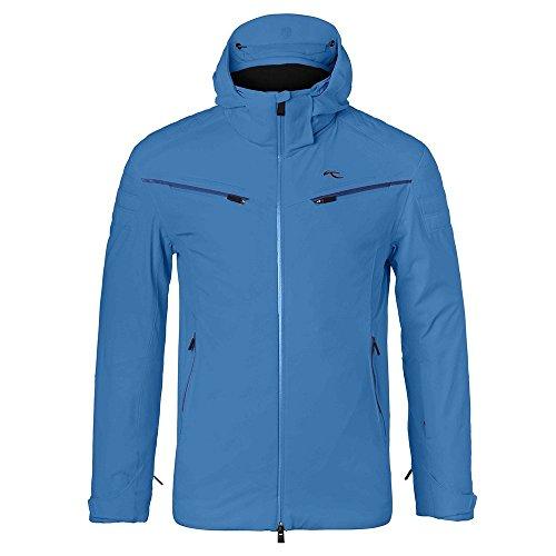 Kjus Formula Insulated Ski Jacket Mens Aquamarine Blue