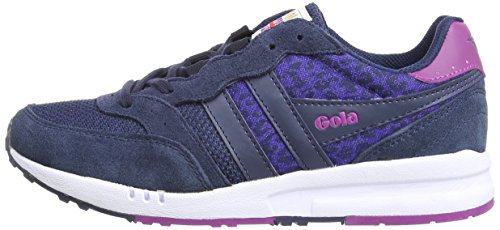 Sneakers navy Leopard Samurai Donna Da Blu navy Gola blue U1Bq7