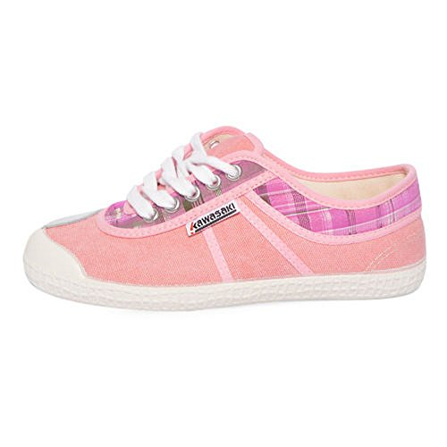 donna deveaux shot scarpe rosa canvas 15 Kawasaki DEV tela hot apxqnwO5