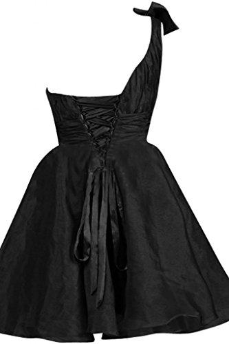 Nero Sunvary e in Organza abiti fascia per Sheer Tulle corsetto da Gowns sera sera fqnOqHw