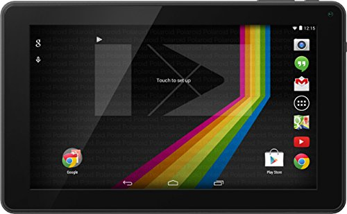 "Polaroid PTAB935 9"" Android 4.4 KitKat 8GB Tablet With Google Play, Dual-Core, Dual Cameras"