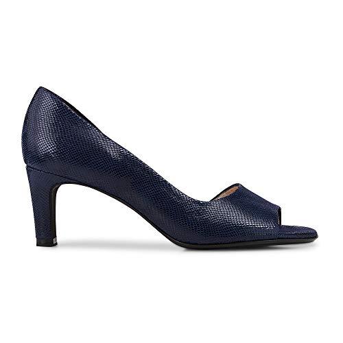 (Peter Kaiser Women's Beate Open Court Shoes 6 C (M) UK/ 8.5 B(M) US Navy Sarto Print )