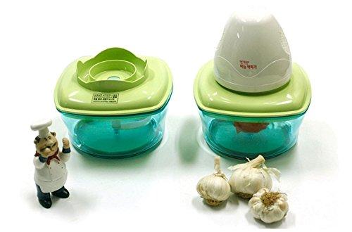 Garlic Peeler & Vegetable Multi Chopper by Electopia